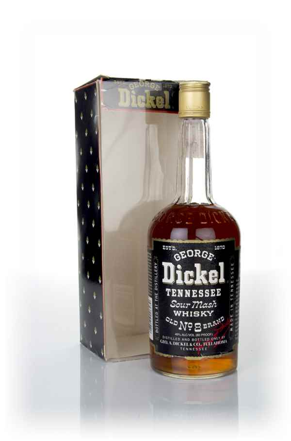 George Dickel Tennessee Sour Mash - 1980s