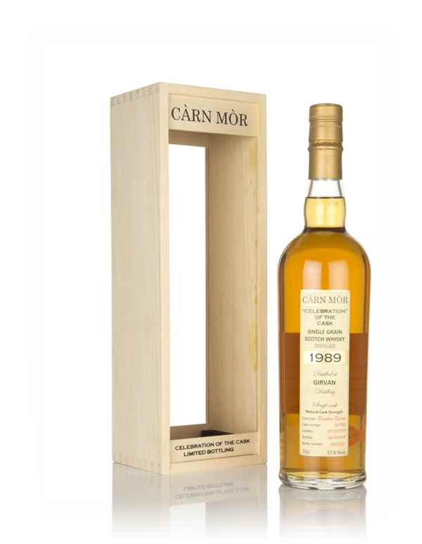 Girvan 28 Year Old 1989 (cask 167865) - Celebration Of The Cask (Càrn Mòr)