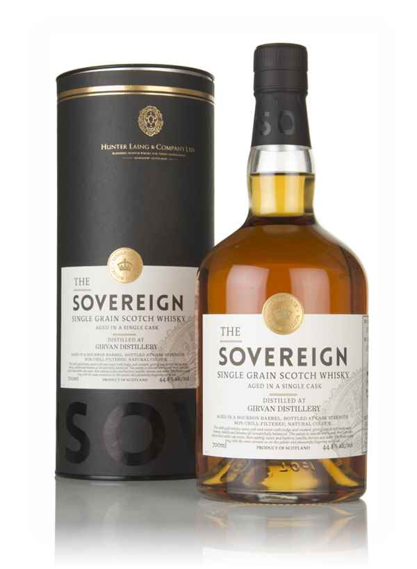 Girvan 52 Year Old 1965 (cask 13927) - The Sovereign (Hunter Laing)