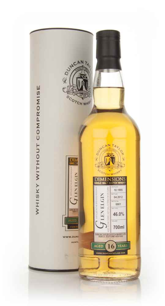 Glen Elgin 16 Year Old 1995 - Dimensions (Duncan Taylor)