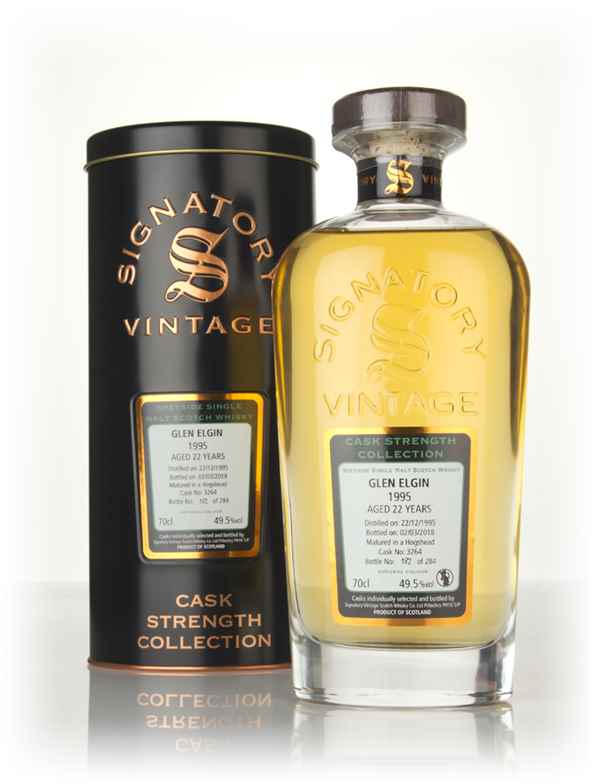 Glen Elgin 22 Year Old 1995 (cask 3264) - Cask Strength Collection (Signatory)