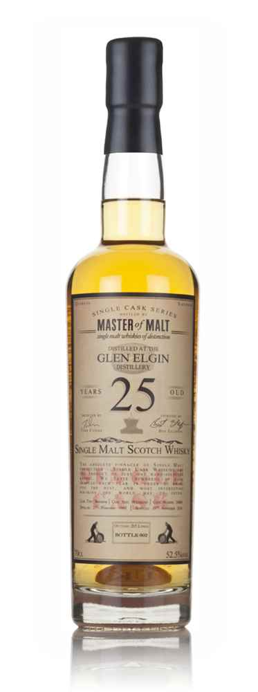 Glen Elgin 25 Year Old 1991 - Single Cask (Master of Malt)