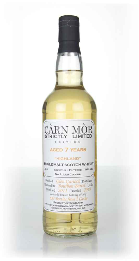 Glen Garioch 7 Year Old 2011 - Strictly Limited (Càrn Mòr)