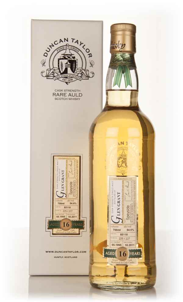 Glen Grant 16 Year Old 1995 - Rare Auld (Duncan Taylor)