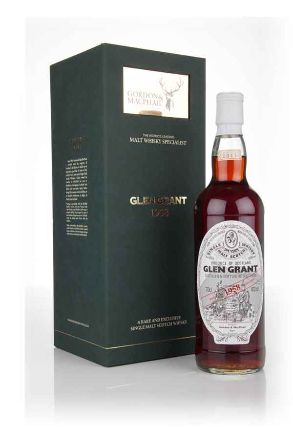 Glen Grant 1958 (Gordon and MacPhail)