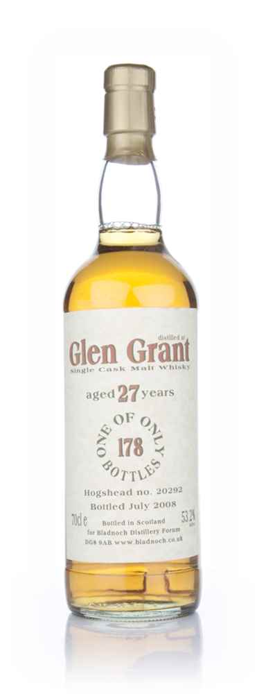 Glen Grant 27 Year Old (Bladnoch Bottling)