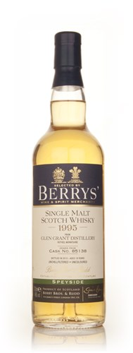 Glen Grant 18 Year Old 1995 (cask 85138) (Berry Bros. & Rudd)
