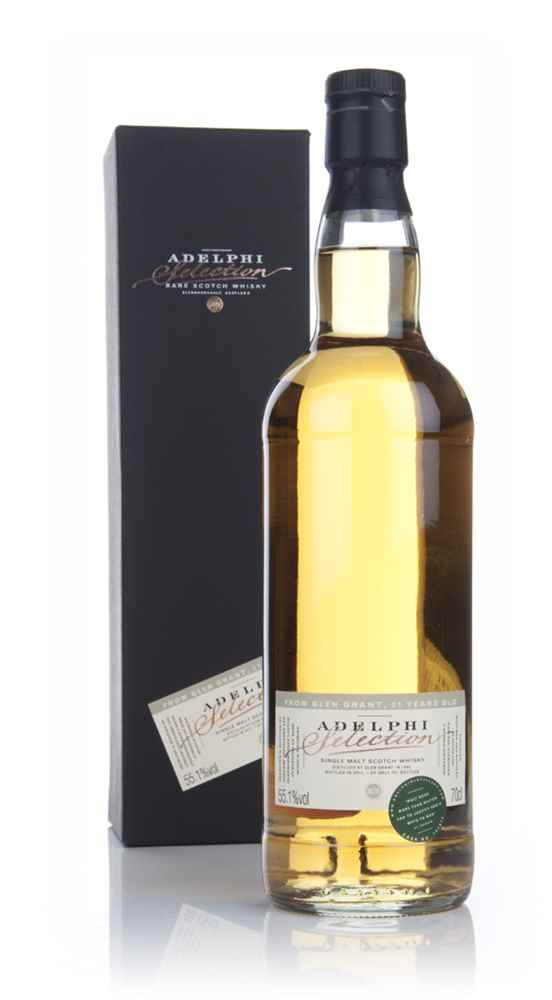 Glen Grant 21 Year Old 1992 (cask 141975) - (Adelphi)