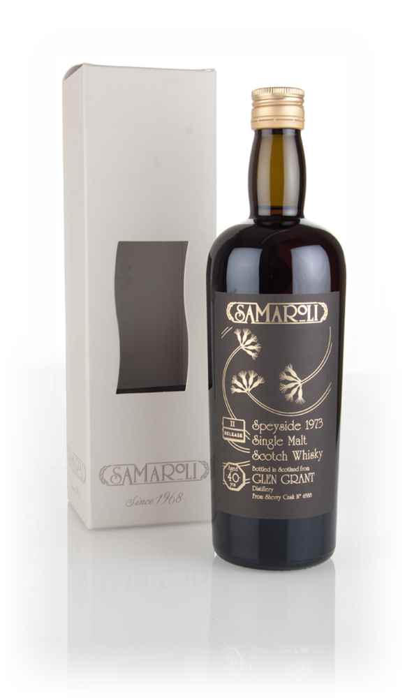 Glen Grant 40 Year Old 1973 (cask 6588) - 2nd Release - Samaroli