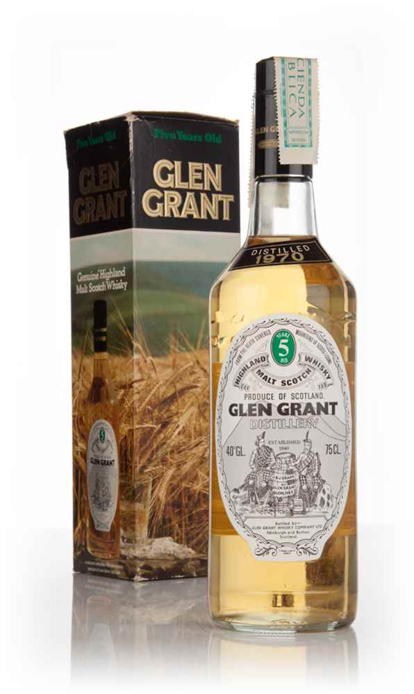 Glen Grant 5 Year Old (Boxed) - distilled 1970