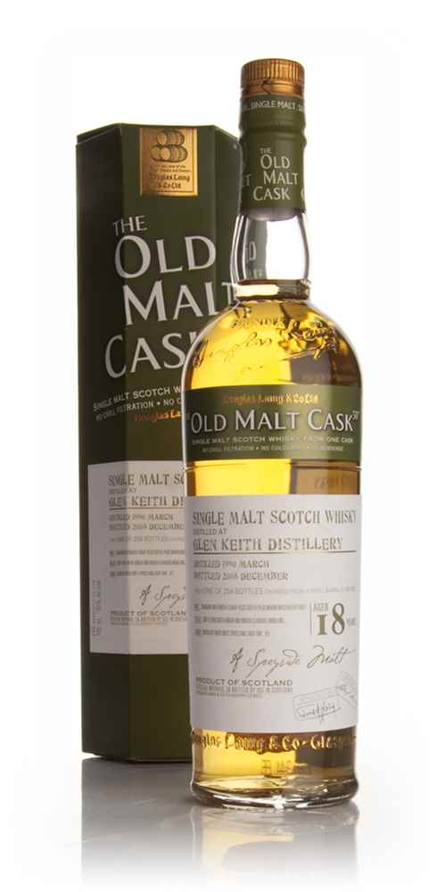 Glen Keith 18 Year Old 1990 - Old Malt Cask (Douglas Laing)