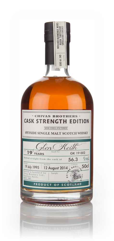 Glen Keith 19 Year Old 1995 - Cask Strength Edition (Chivas Brothers)
