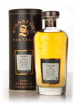 Glen Mhor 29 Year Old 1982 (cask 1604) - Cask Strength Collection (Signatory)