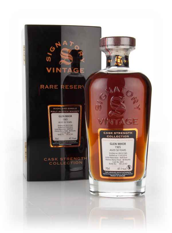 Glen Mhor 50 Year Old 1965 (cask 3934) - Cask Strength Collection Rare Reserve (Signatory)