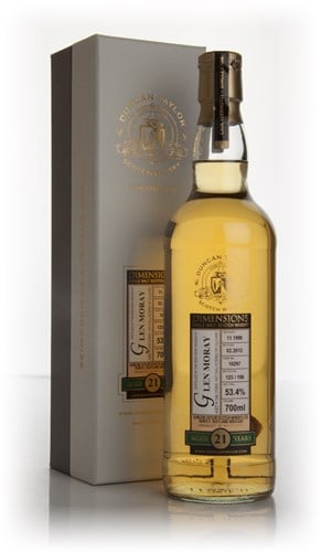 Glen Moray 21 Year Old 1990 - Dimensions (Duncan Taylor)