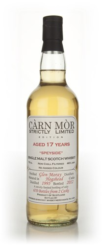 Glen Moray 17 Year Old 1995 - Strictly Limited (Càrn Mòr)
