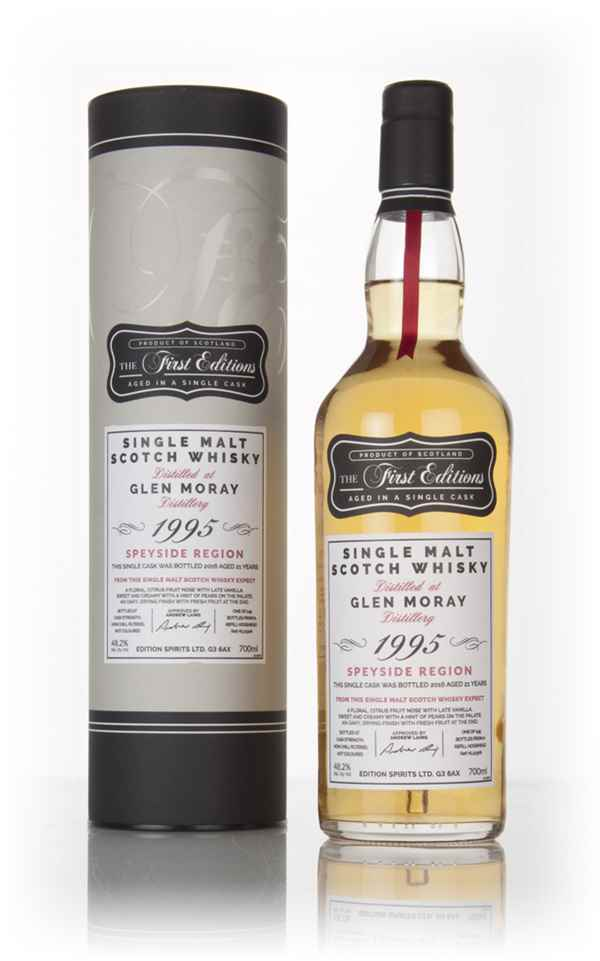 Glen Moray 21 Year Old 1995 (cask 12306) - The First Editions (Hunter Laing)