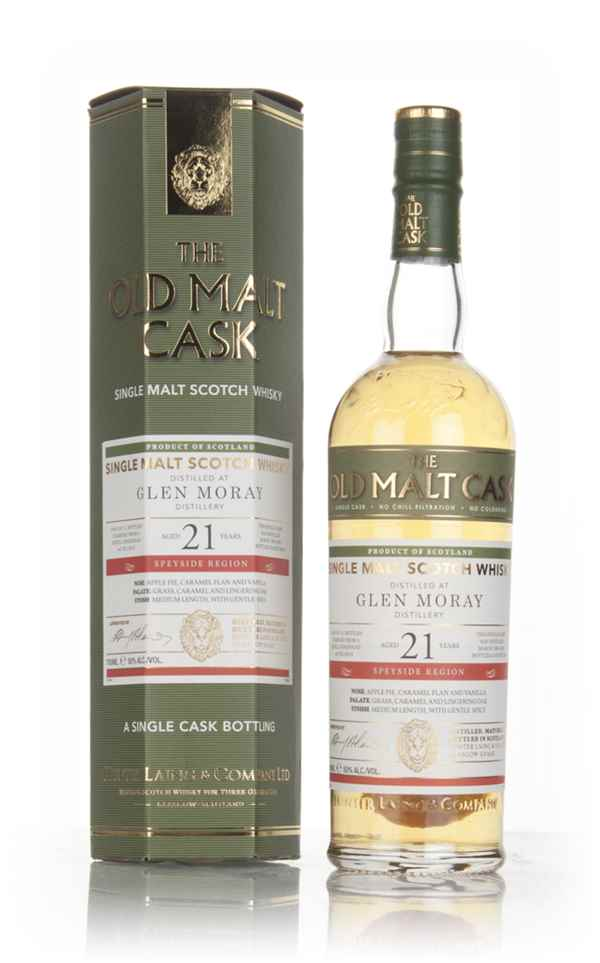 Glen Moray 21 Year Old 1995 (cask 12819) - Old Malt Cask (Hunter Laing)