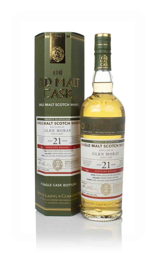 Glen Moray  21 Year Old 1997 (cask 17201) - Old Malt Cask (Hunter Laing)