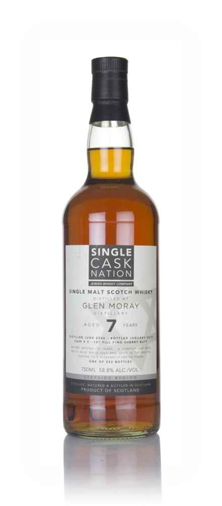 Glen Moray 7 Year Old 2006 (Single Cask Nation)