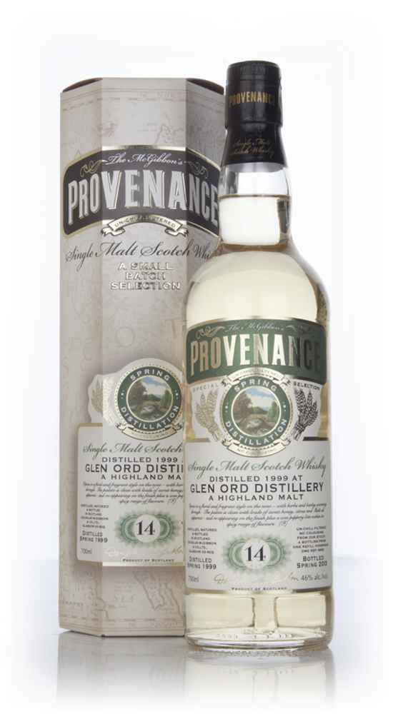 Glen Ord 14 Year Old 1999 (cask 9652) - Provenance (Douglas Laing)