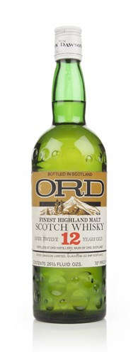 Ord 12 Year Old Highland Malt Whisky - 1970s