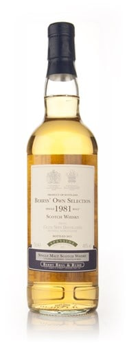 Glen Spey 1981 (Berry Bros. & Rudd)