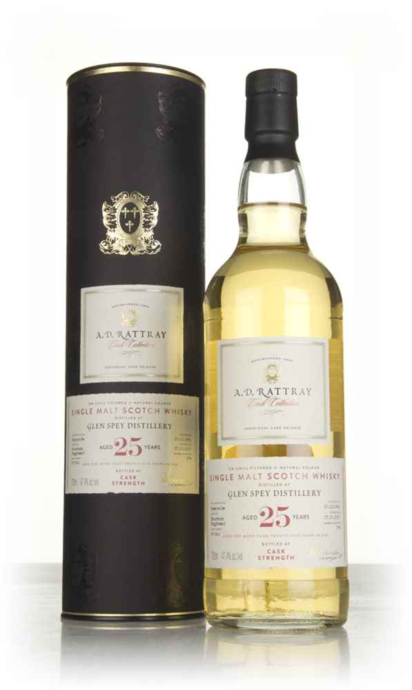 Glen Spey 25 Year Old 1991 (cask 800861) - Cask Collection (A.D. Rattray)