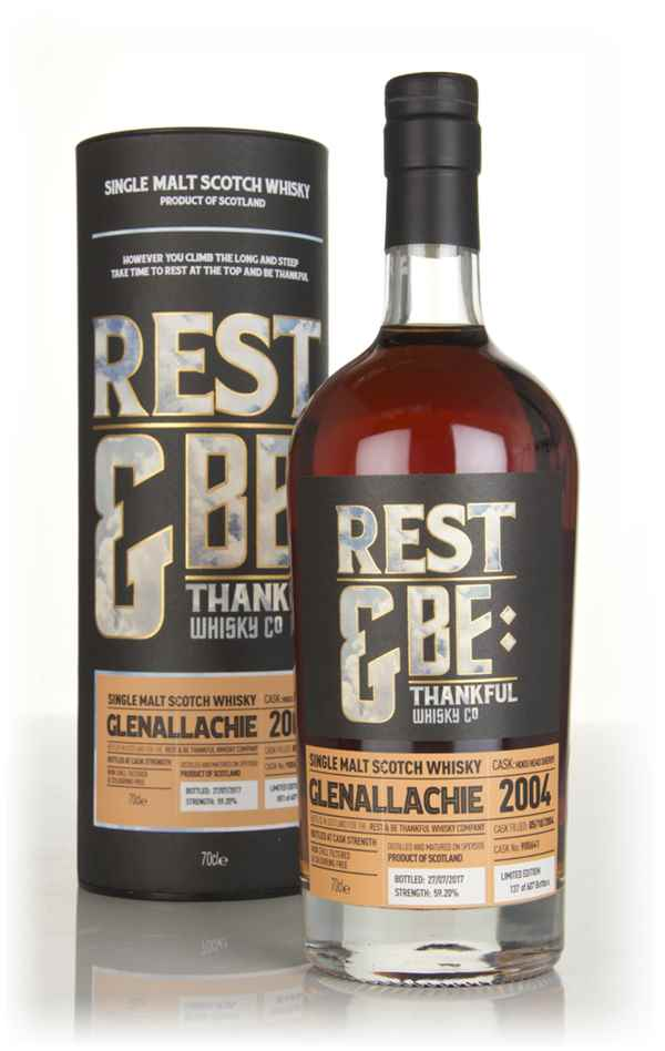 Glenallachie 12 Year Old 2004 (cask 900641) (Rest & Be Thankful)