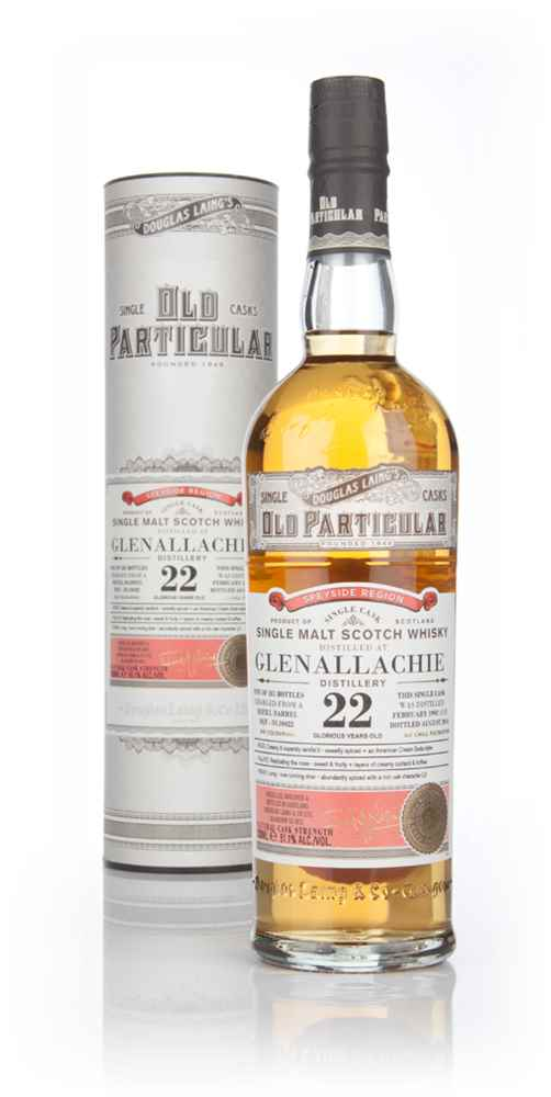 Glenallachie 22 Year Old 1992 (cask 10422) - Old Particular (Douglas Laing)