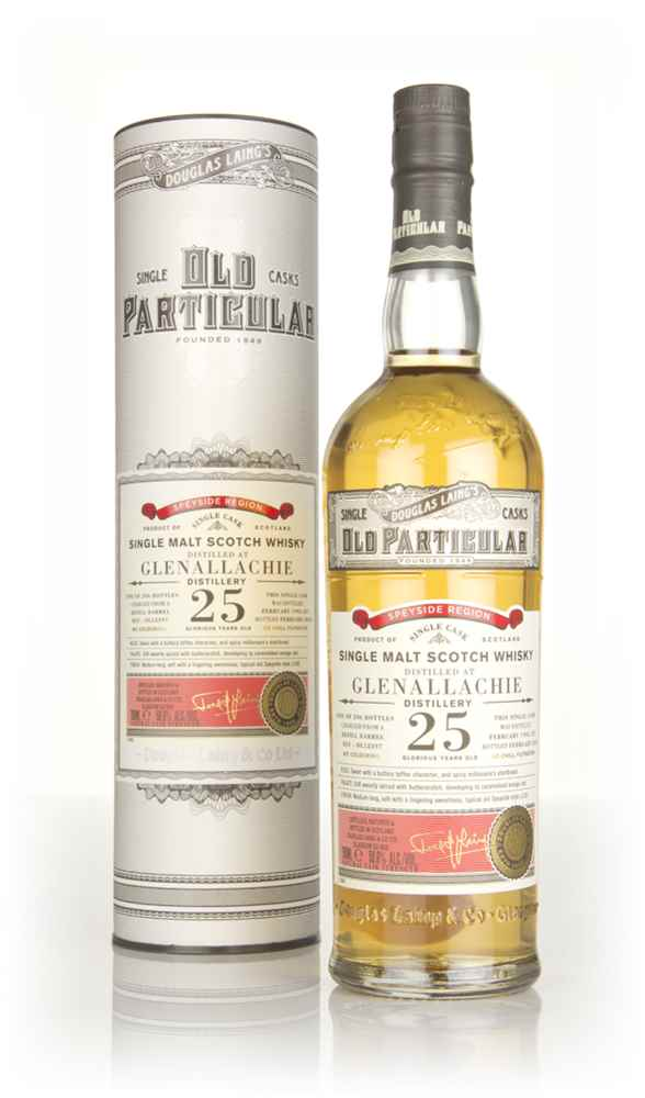 Glenallachie 25 Year Old 1992 (cask 12397) - Old Particular (Douglas Laing)