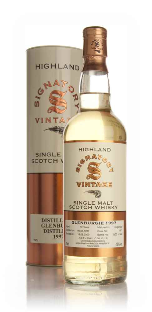 Glenburgie 12 Year Old 1997 (Signatory Bottling)