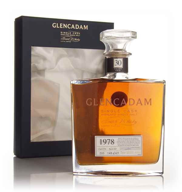 Glencadam 30 Year Old 1978 Sherry Cask
