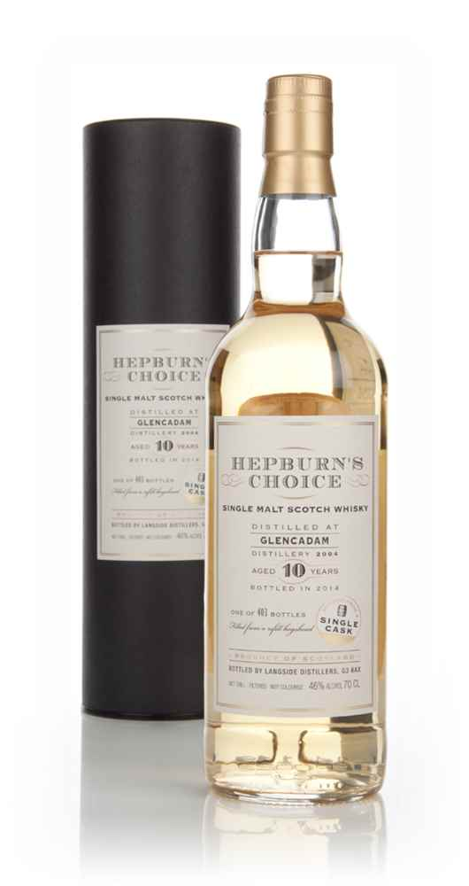 Glencadam 10 Year Old 2004 - Hepburn's Choice (Langside)