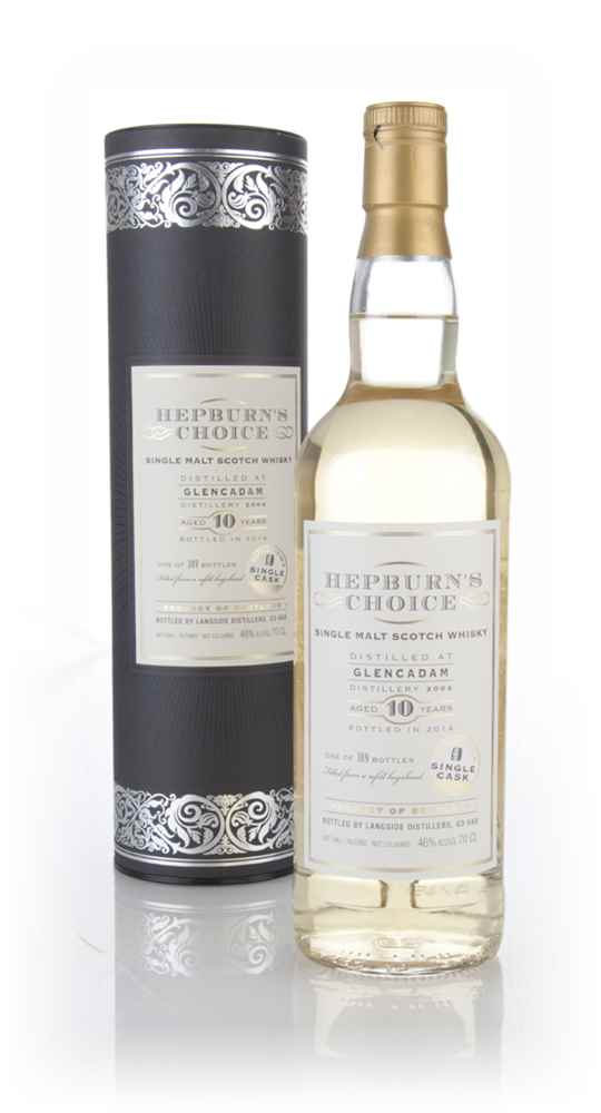 Glencadam 10 Year Old 2004 (outturn: 389 bottles) - Hepburn's Choice (Langside)