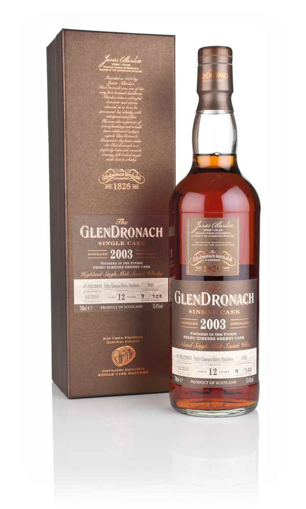 GlenDronach 12 Year Old 2003 (cask 930)