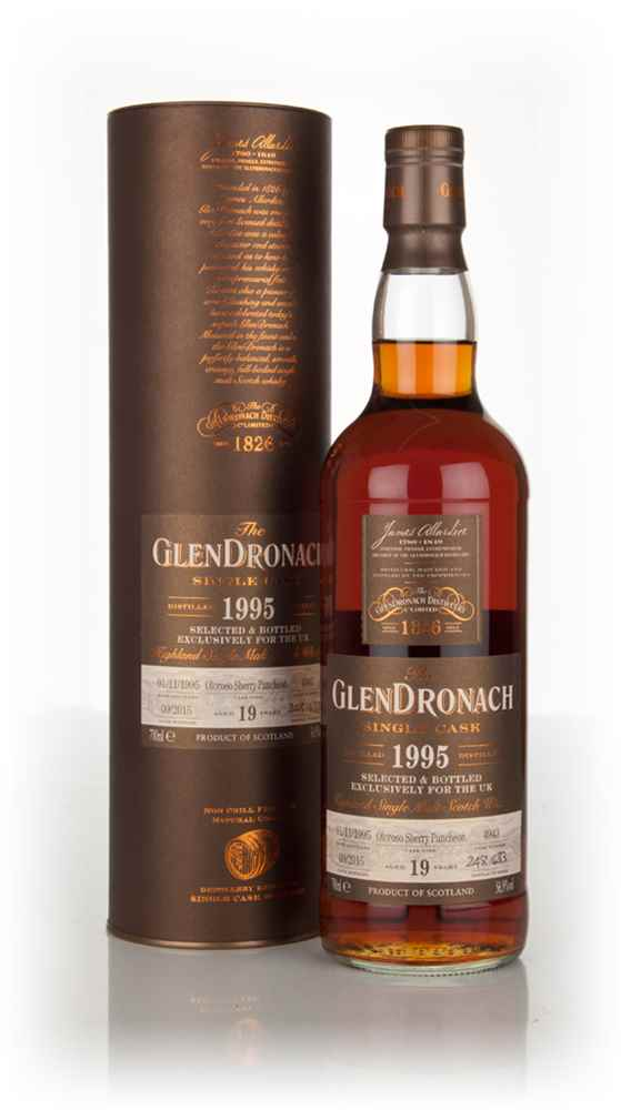 GlenDronach 19 Year Old 1995 (cask 4923)