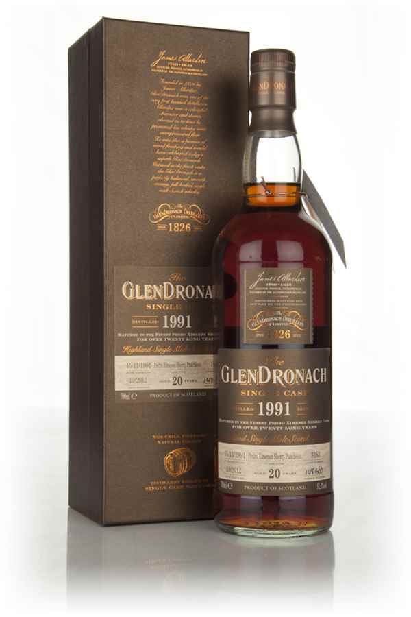 GlenDronach 20 Year Old 1991 (cask 3183) - Batch 7