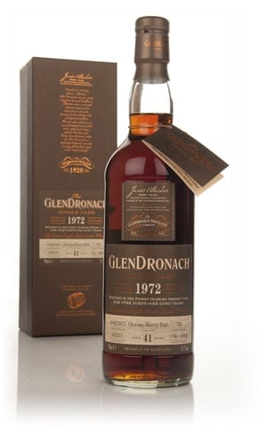 GlenDronach 41 Year Old 1972 (cask 702) - Batch 9