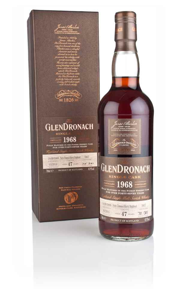 GlenDronach 47 Year Old 1968 (cask 5837)