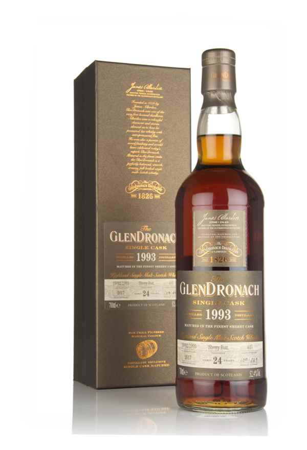 The GlenDronach 24 Year Old 1993 (cask 445)