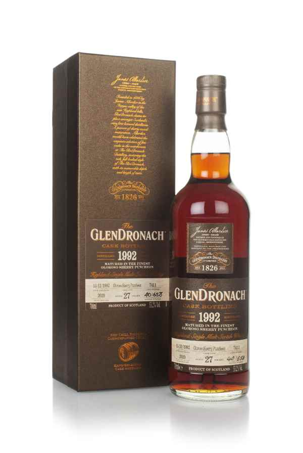 The GlenDronach 27 Year Old 1992 (cask 7411)