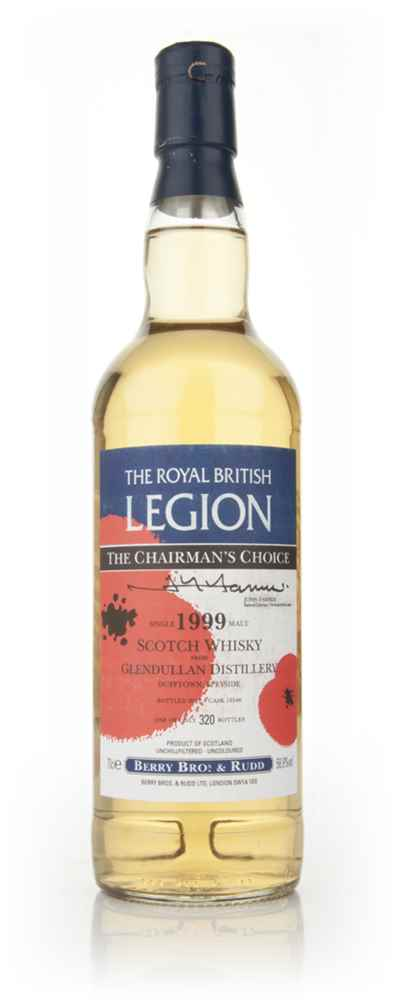 Glendullan 12 Year Old 1999 - Royal British Legion (Berry Bros. & Rudd)
