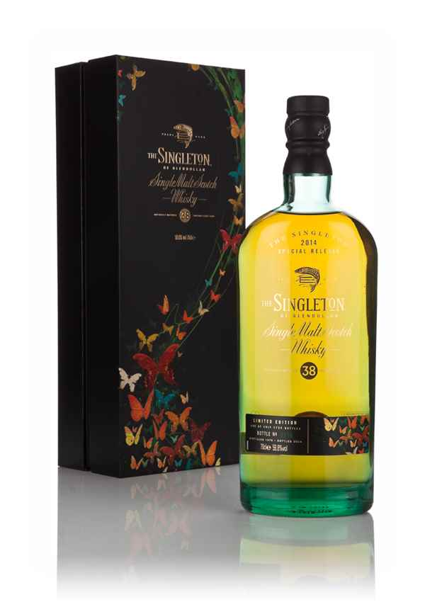 The Singleton of Glendullan 38 Year Old 1976 (2014 Special Release)
