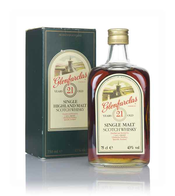 Glenfarclas 21 Year Old (Green Box) - 1980s