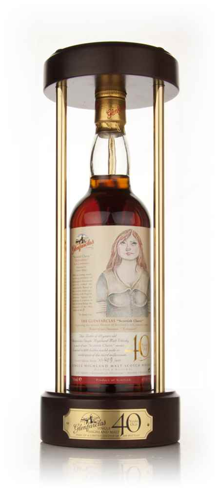 "Glenfarclas 40 Year Old - Scottish Classic ""The Bonnie Lass"""
