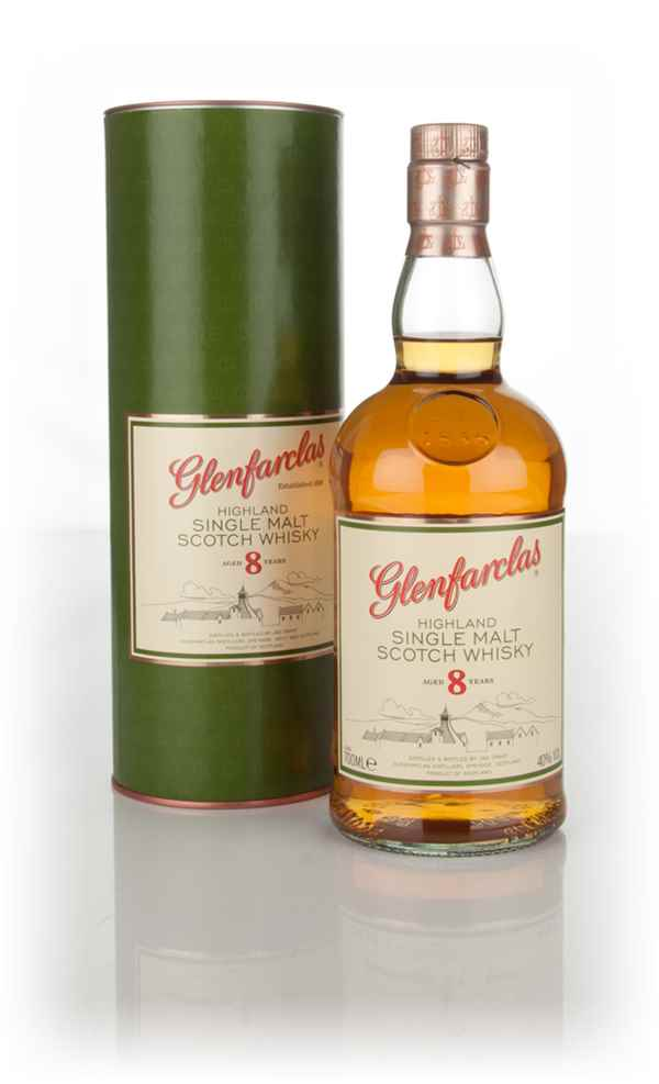 Review No.250. Glenfarclas 8 Year Old