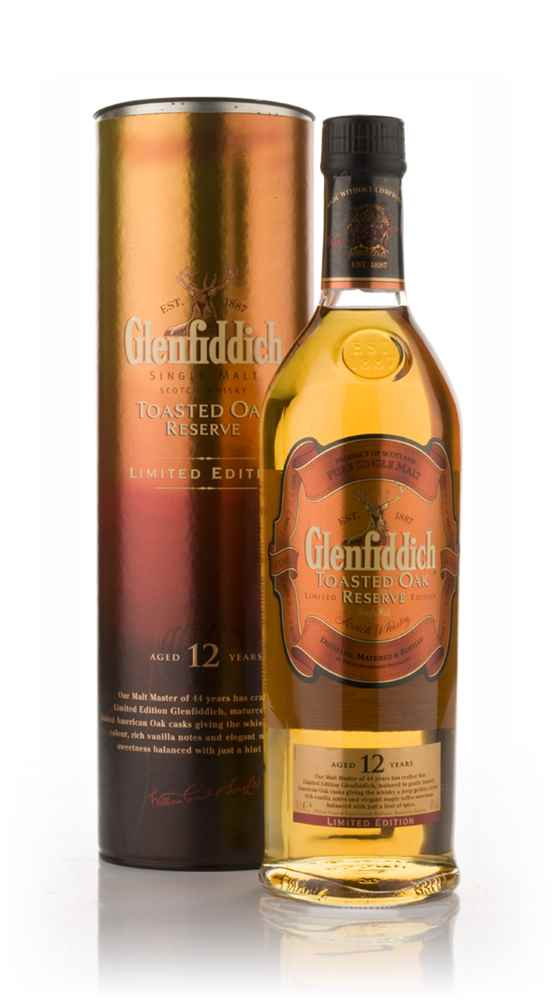 Glenfiddich 12 Year Old Toasted Oak Limited Edition