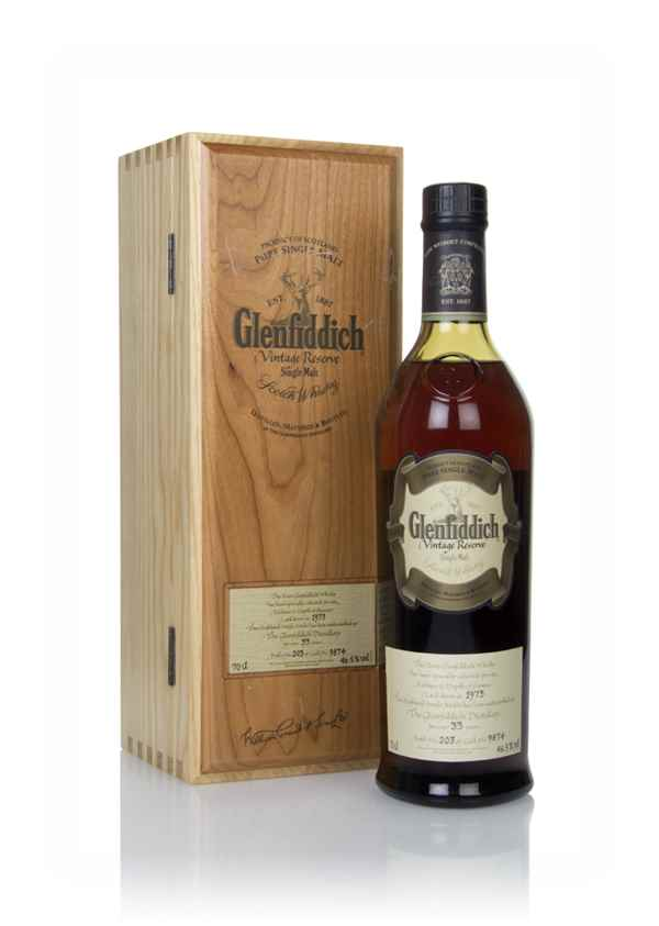 Glenfiddich 33 Year Old 1973 - Vintage Reserve