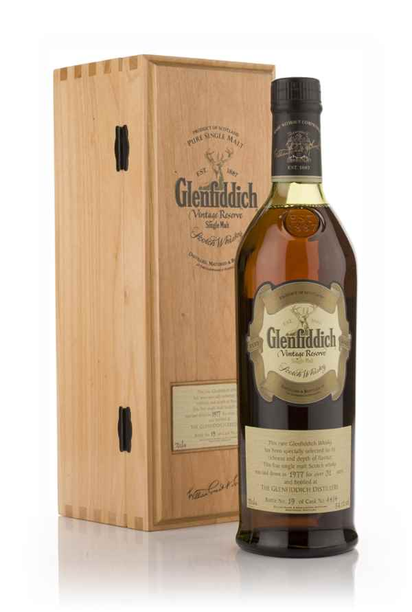 Glenfiddich 31 Year Old 1977 - Vintage Reserve